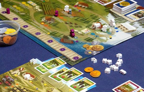 Виноградні сади Тоскани у грі Viticulture