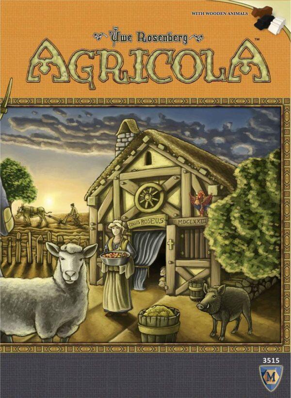 Переклад карт гри Agricola (Аґрікола)